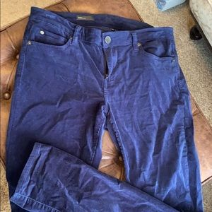 KUT by the Kloth Diana Skinny Corderoy Pants 12